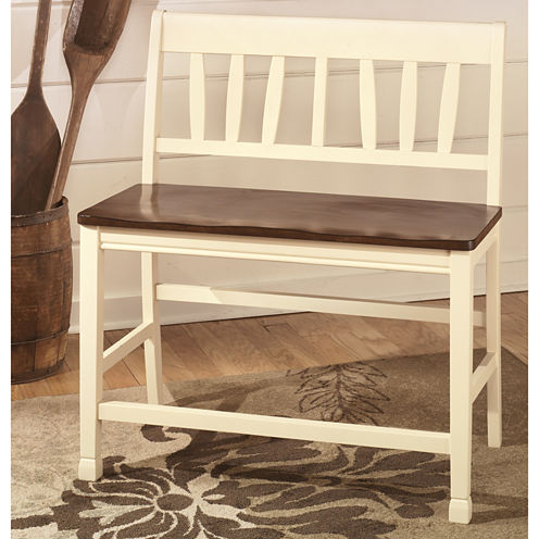 Signature Design by Ashley® Owingsville Double Seat Barstool