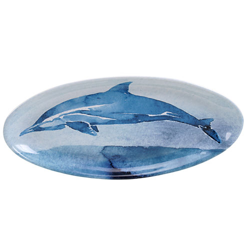 Certified International Sea Life Oval Platter