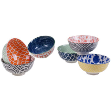 jcpenney.com | Certified International Mix And Match Chelsea Set of 6 Bowls
