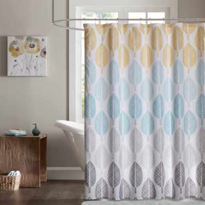 Pelham Bay Printed Shower Curtain - JCPenney