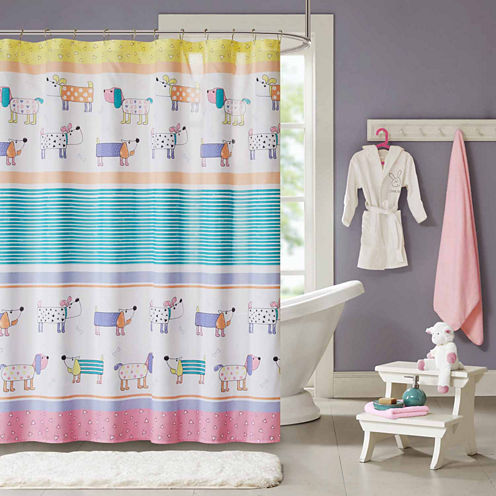 Wriggle Shower Curtain