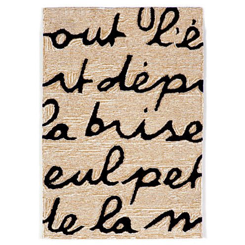 Liora Manne Spello Poem Hand Tufted Rectangular Rugs