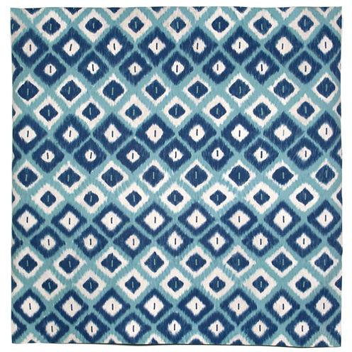 Liora Manne Visions Ii Ikat Diamonds Square Rugs
