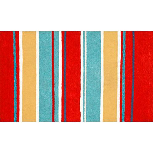 Liora Manne Visions Iii Sailor Stripe Rectangular Rugs
