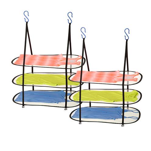 Honey-Can-Do 2-Pk 3-Tier Hanging Dryer