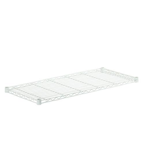 Honey-Can-Do Steel Shelf- 250 Lbs White 16X36