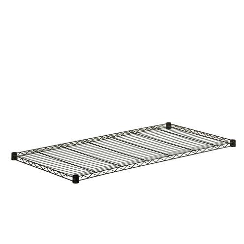 Honey-Can-Do Steel Shelf-350 Lbs Black 24X48