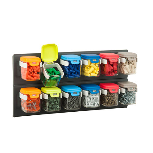 Honey-Can-Do Flip-12 Wall-Mounted Organizer