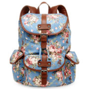 Olsenboye® Floral Canvas Backpack