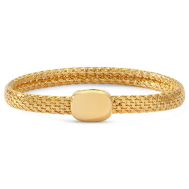 jcpenney.com | Monet® Gold-Tone Magnetic Closure Bracelet