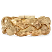 Monet® Gold-Tone Large Braided Bracelet