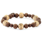 Monet® Two-Tone Beaded Stretch Bracelet