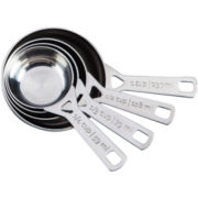 Le Creuset® 4-Piece Measuring Cup Set