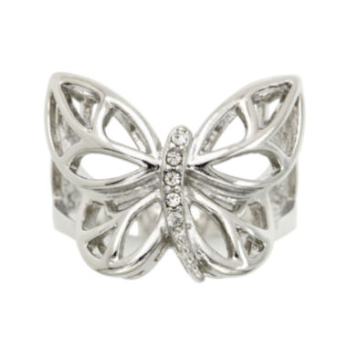 jcpenney.com | city x city® Cubic Zirconia Butterfly Ring