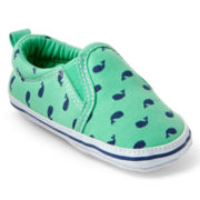 Carter's® Infant Boys Whale Canvas Shoes