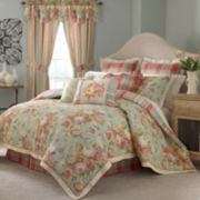 Waverly® Spring Bling 4-pc. Reversible Floral Comforter Set & Accessories