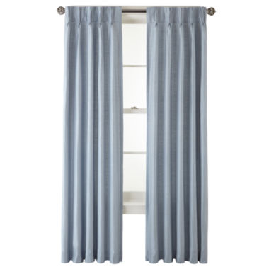 jcpenney.com | Royal Velvet® Supreme Pinch-Pleat/Back-Tab Thermal Curtain Panel
