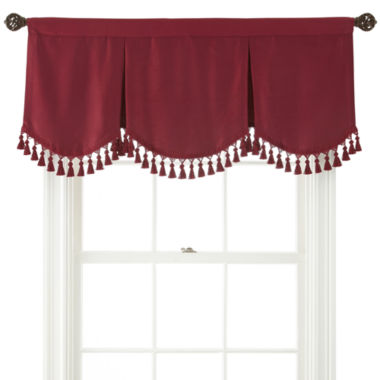 jcpenney.com | Royal Velvet® Supreme Rod-Pocket Lined Frontenac Valance