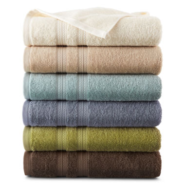 jcpenney.com | Home Expressions™ Solid Bath Towels