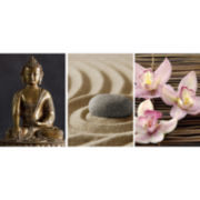 Set of 3 Zen Panoramic Wall Decals