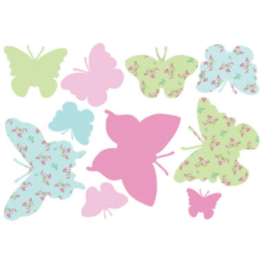 jcpenney.com | Butterflies Maxi Wall Decals