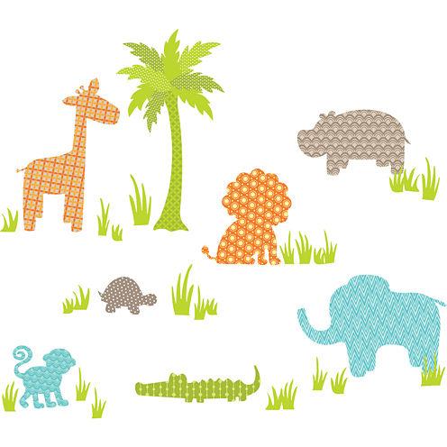 Jungle Friends Wall Decals