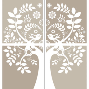 jcpenney.com | Love Birds Large Wall Decal