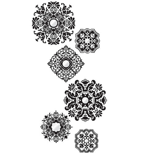 Baroque Large Wall Decals