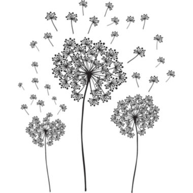 jcpenney.com | Dandelion Small Wall Decals