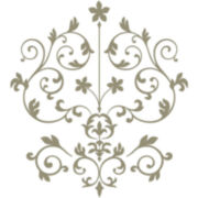 Nouveau Damask Wall Decal