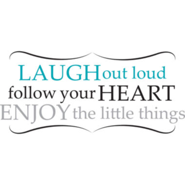 jcpenney.com | Laugh Out Loud Wall Decal