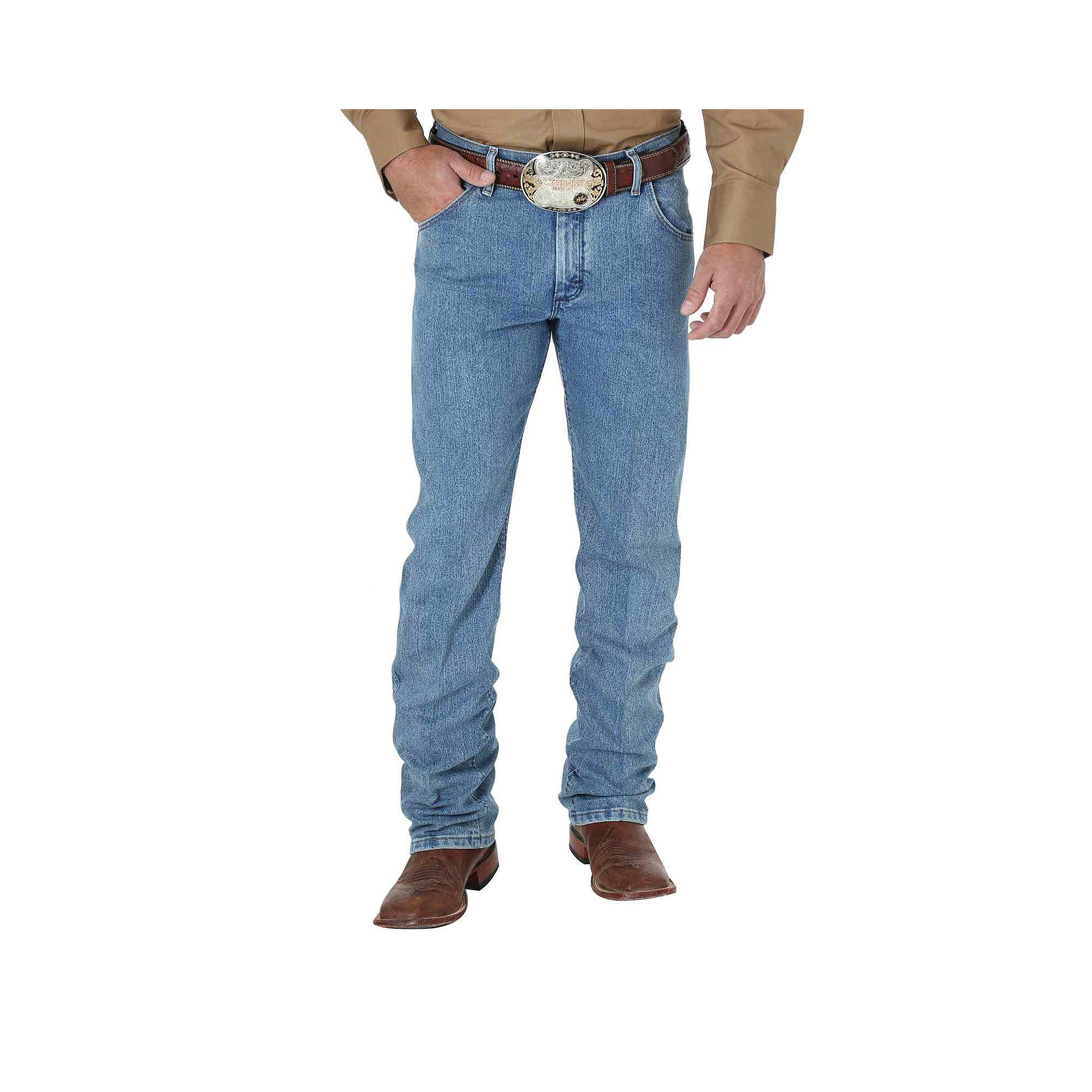 9faa24dabbd ... UPC 040326436305 product image for Wranglers Premium Performance Cowboy  Cut Jeans