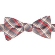 JF J. Ferrar® Kimbell Plaid Pre-Tied Bow Tie