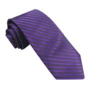 Stafford® Confident Stripe Silk Tie