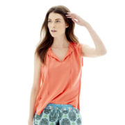Joe Fresh™ Ruffle Tank Top
