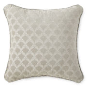 Royal Velvet® Mayfair Square Velvet Decorative Pillow