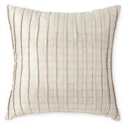 Liz Claiborne® Belaire Pleated Square Decorative Pillow