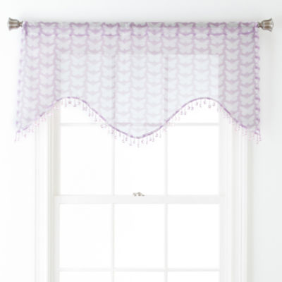 Home Expressions™ Kelsie Rod-Pocket Scalloped Valance