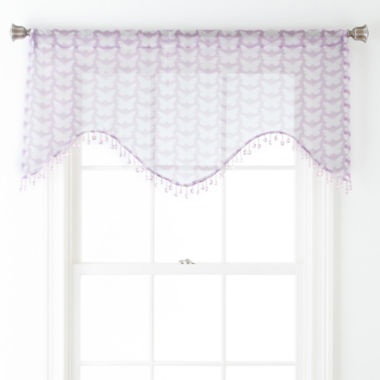 jcpenney.com | Home Expressions™ Kelsie Rod-Pocket Scalloped Valance