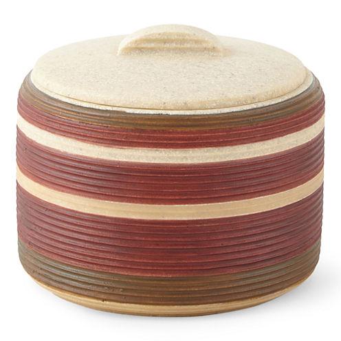 Sonorah Covered Jar