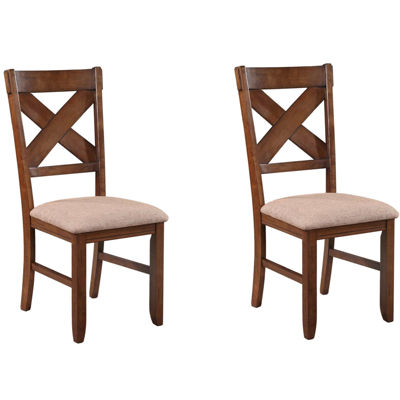 Lansford Set of 2 Upholstered Dining Chairs