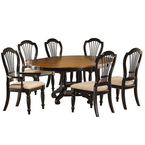Meadowbrook 7-pc. Round Dining Set