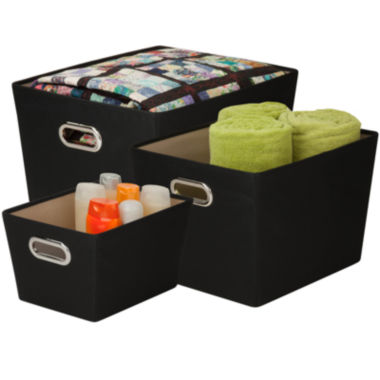 jcpenney.com | Honey-Can-Do® 3-pc. Nesting Tote Kit