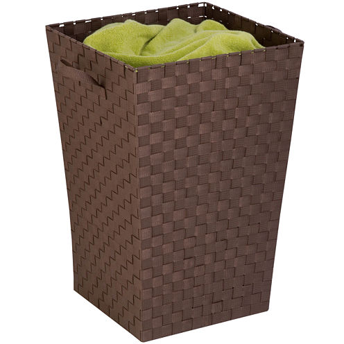 Honey-Can-Do® Woven Strap Clothes Hamper