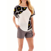 Worthington® PrinteSweater or Sateen Shorts
