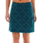 Made For Life™ Print Patch Pocket Skort