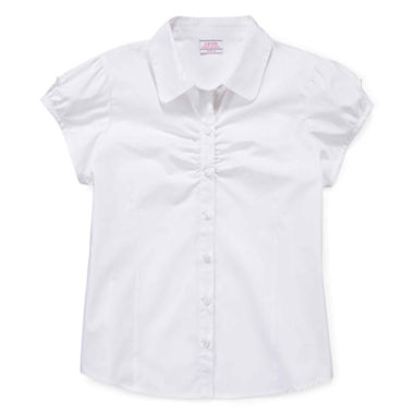 jcpenney.com | IZOD® Button-Woven Top - Girls 7-18 and Plus