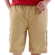 Ecko Unltd.® Ribbed Waist Cargo Shorts-Big & Tall