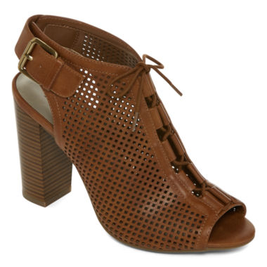 jcpenney.com | a.n.a® Aldis Lace-Up Perforated Shooties