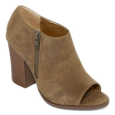 jcpenney.com | Diba® London Indie Peep-Toe Booties